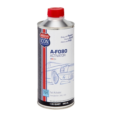 A-F080 Activator - National Rule VOC- Fast - 1 quart