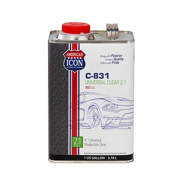 C-831 Universal Clear - 2.1 Low VOC - 1 gallon