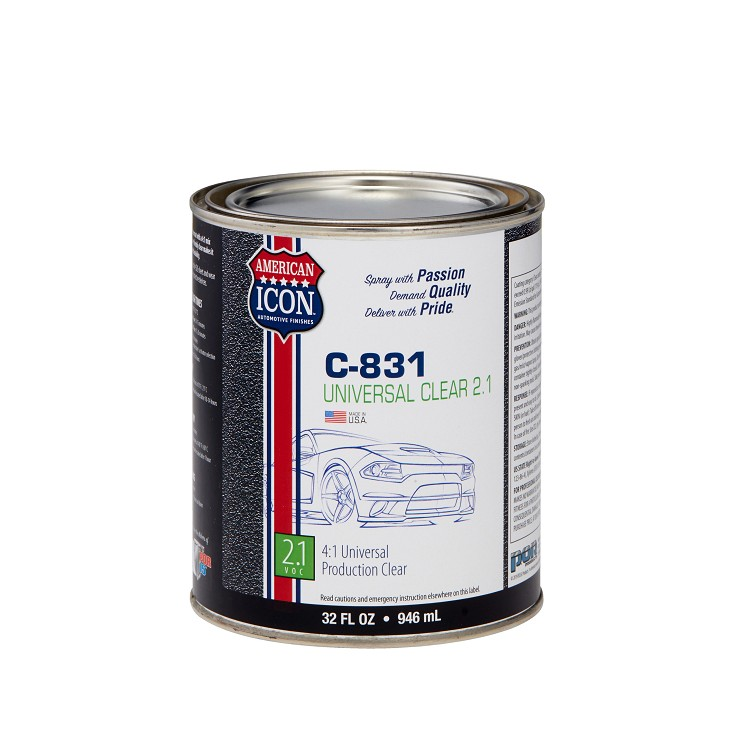 C-831 Universal Clear - 2.1 Low VOC - 1 quart